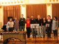 Victor Mendoza in študenti z glasbene akademije Berklee, Valencia.