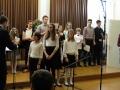 Kvartet klarinetov: Manca Noč, Nadja Krajnc, Emilija Šmitran, Jana Dremelj
